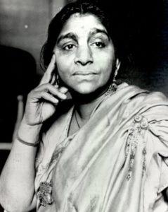 Young Sarojini Naidu