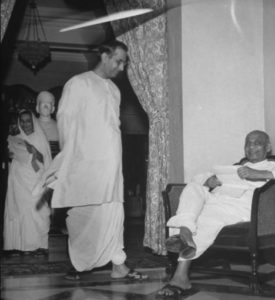 Ghanshyam Das Birla with Sardar Vallabhai Patel