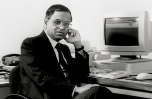 Narayan Murthy during Infosys Initial days