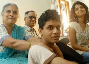 Narayan Murthy with his Family