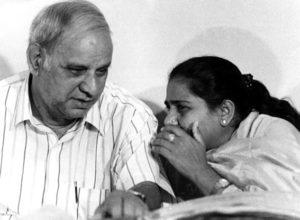 Kanshi Ram with Mayawati