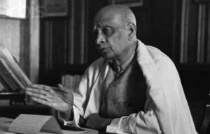 Sardar Patel Negotiating with British Government