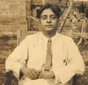 Bose at Dhaka University in the 1930s