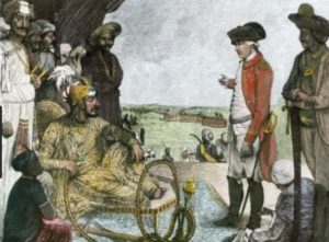 Shah Alam II surrender to British