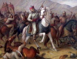 Rajput in Battle