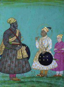 Murtaza Nizam Shah II and Malik Ambar