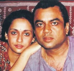 Paresh Rawal with his Wife