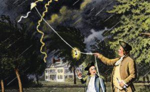 Benjamin Franklin Inventions - Kite Experiment