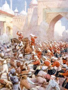 Sepoy Revolt in Delhi