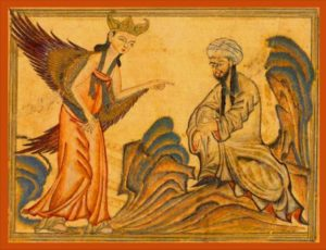 Mohammad and Angel Gabriel