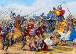 Battle of Hydaspas - Alexander Attack