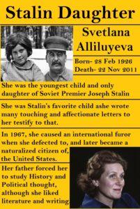 Stalin Daughter