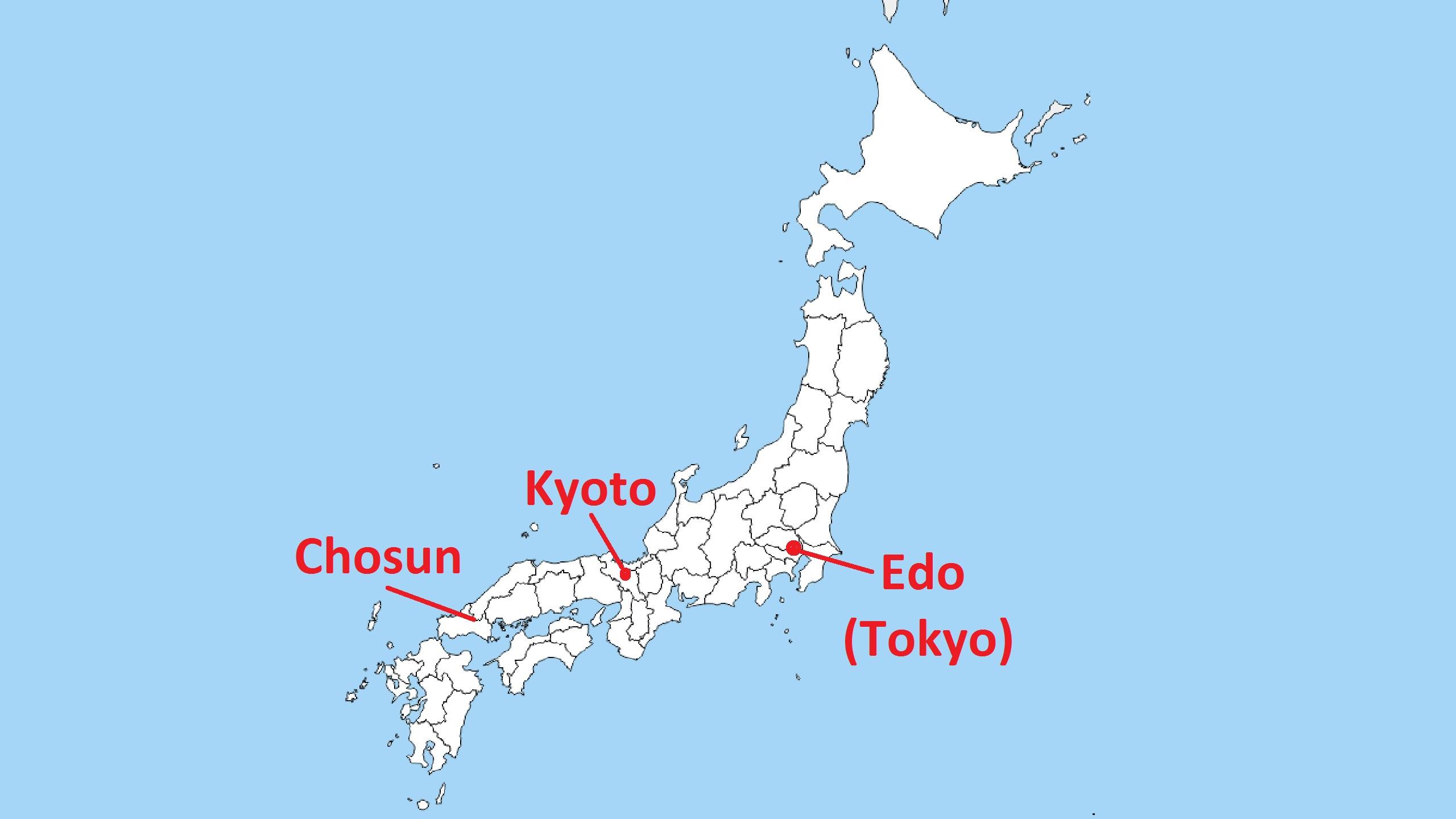 Boshin War Maps - 1