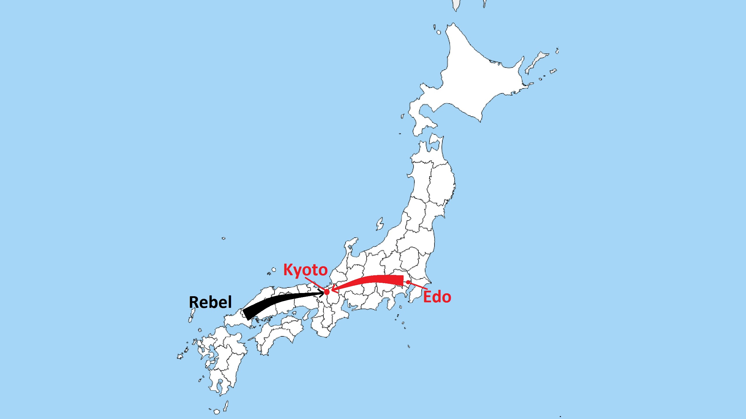 Boshin War Maps - 3