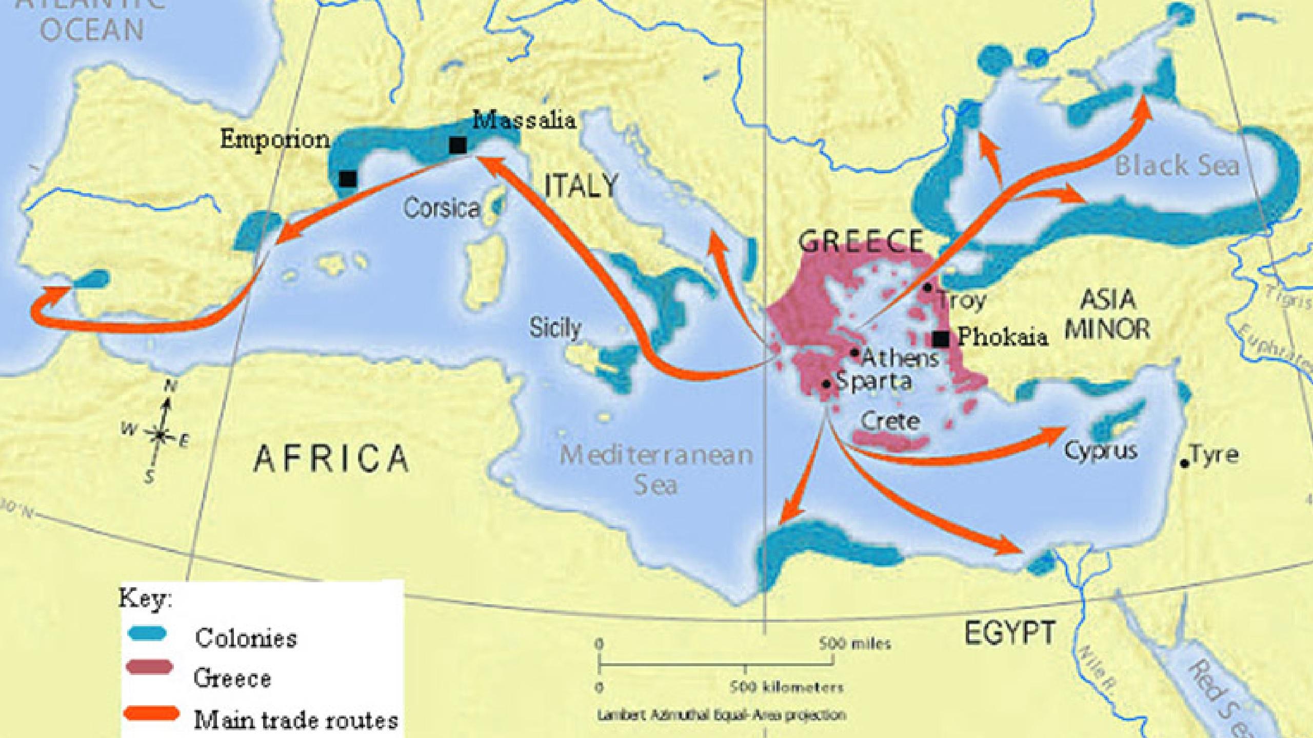 Overseas Colonies of Greek City-States