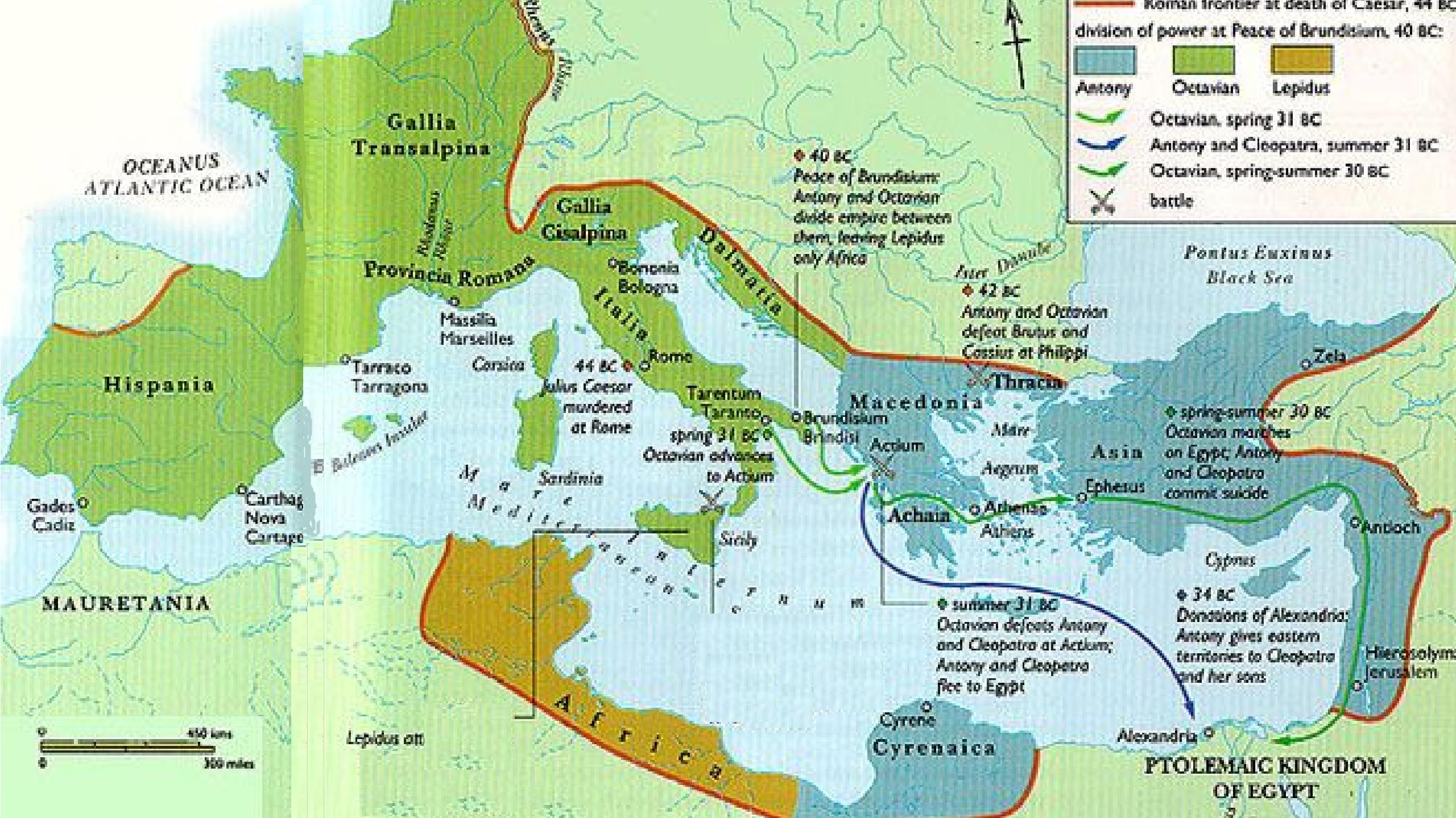 Second Triumvirate Map